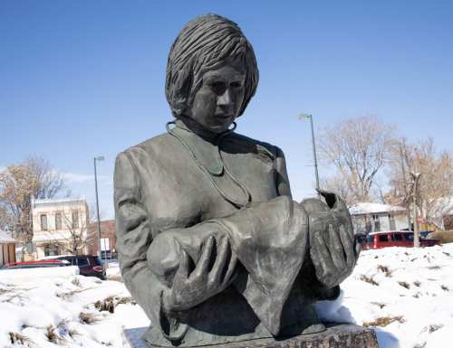 Statue of Dr. Justina Ford | 303 Magazine/Karson Hallaway
