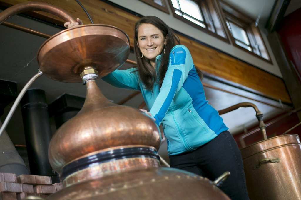 Karen Hoskin owner of Montanya Distillers Karen Hoskin owner of Montanya Distillers | © Courtesy of Montanya Distillers