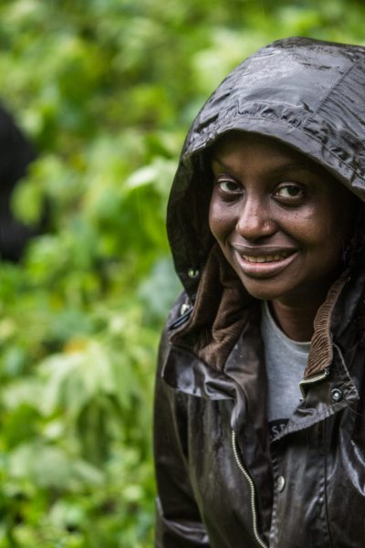 Local veternarian, Dr. Gladys Kalema-Zikusoka in Uganda ©   JMcArthur/Unbound Project