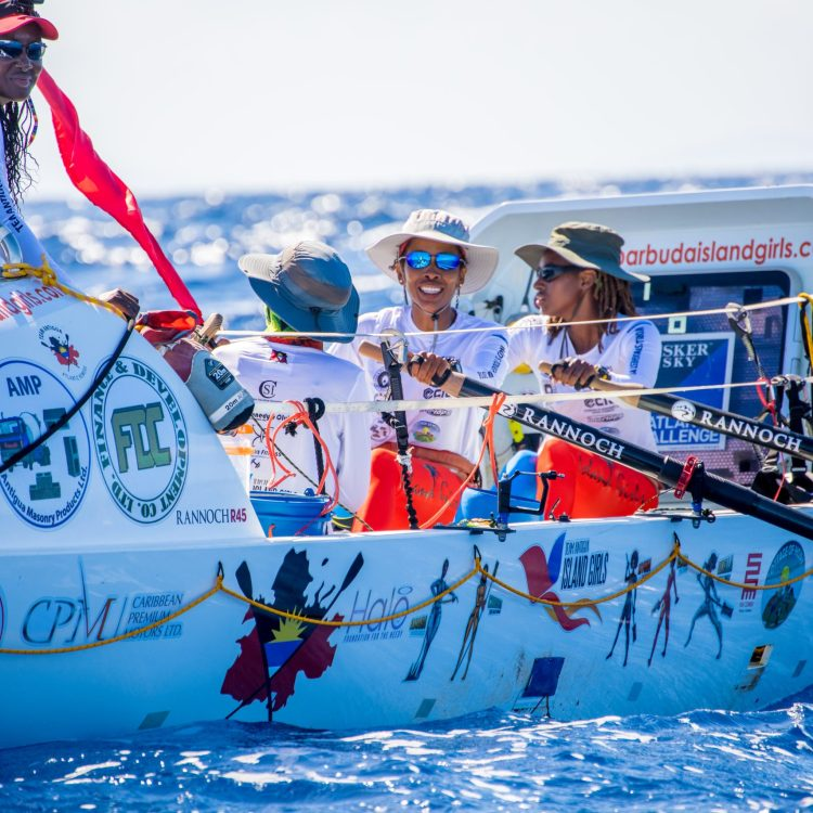 The 1st Black, Female Team to Row Across An Ocean