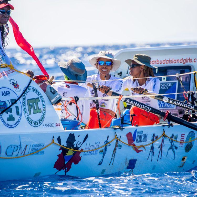 The 1st Black, Female Team to Row Across An Ocean