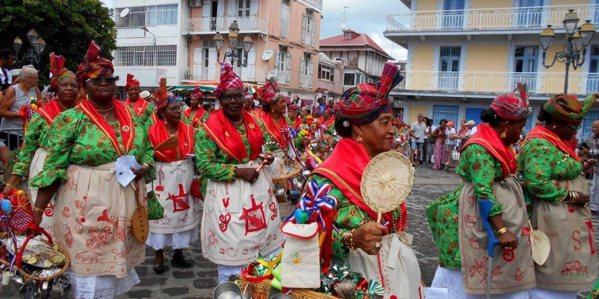 Guadeloupe's Festival of Female Cooks © | Courtesy of the Guadeloupe Tourism board