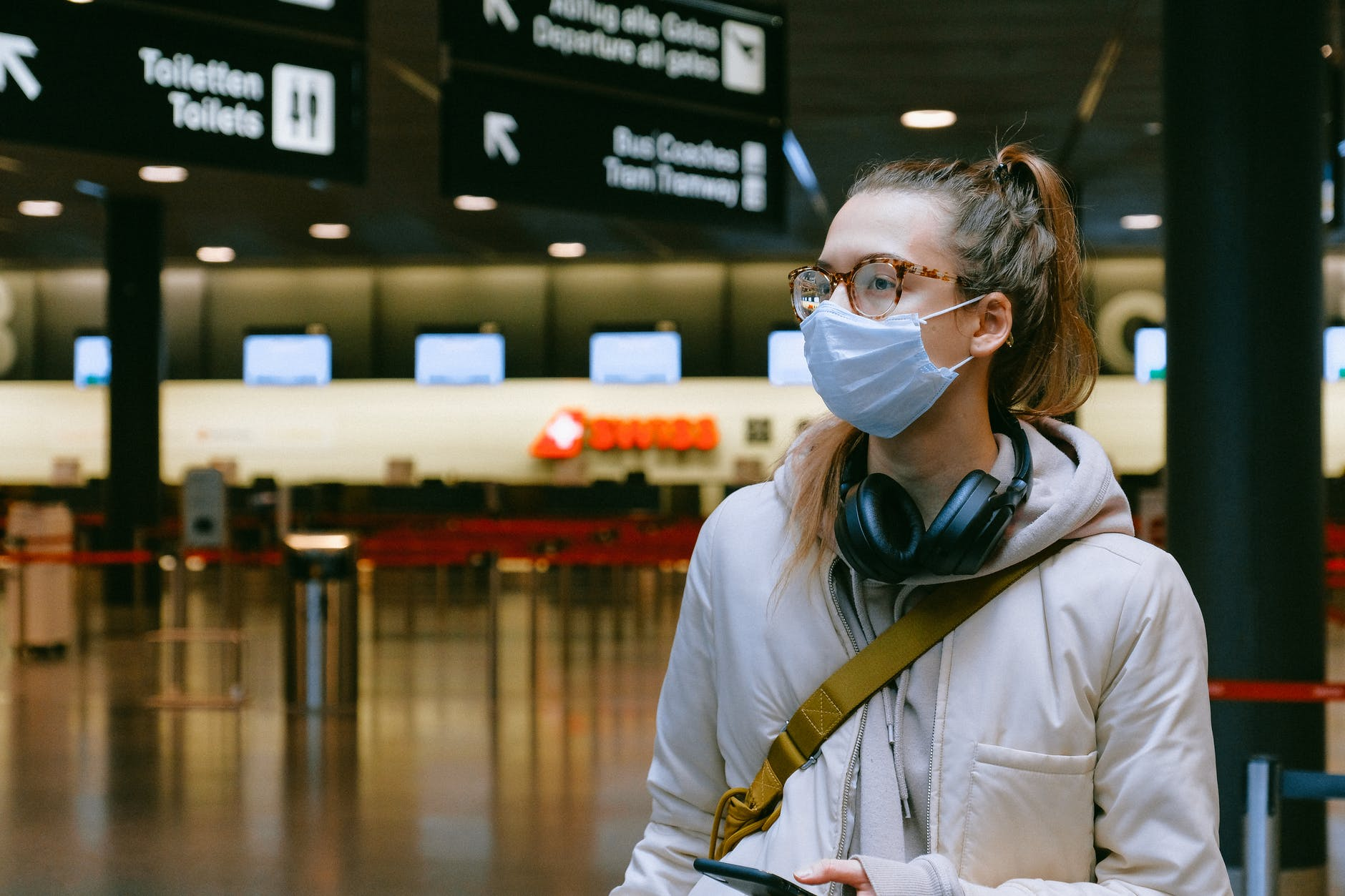 Airlines have implemented mask-wearing mandates for all passengers on board  © |  Anna Shvets/Pexels