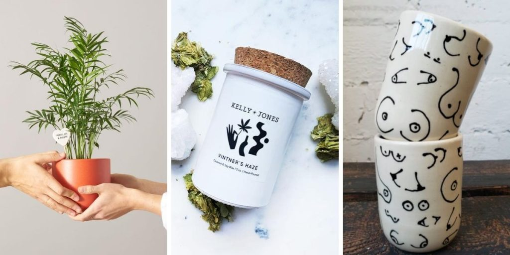 Spruce up the home with these cute gift ideas from women-owned shops