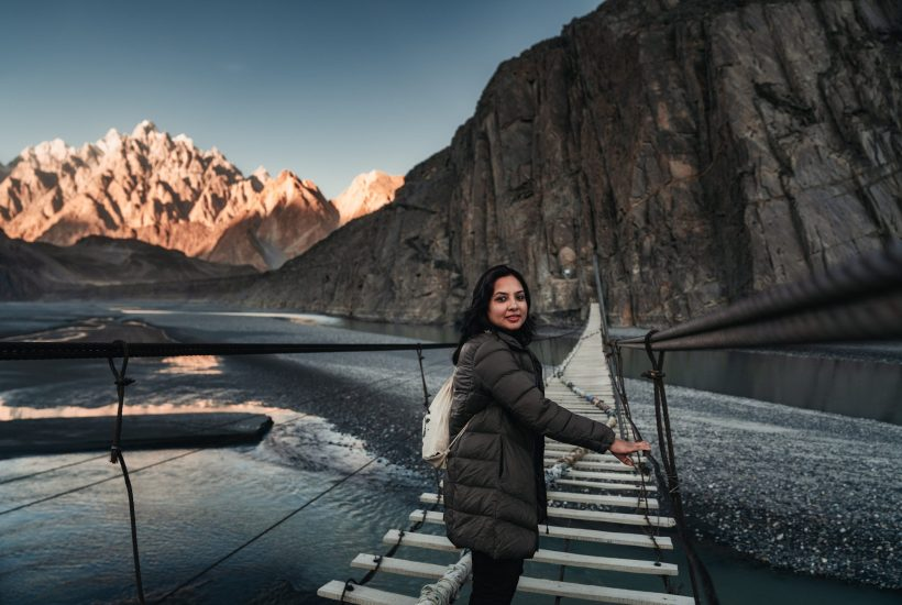 In a male-dominated travel industry, Aneeqa Ali is the founder of a travel company aimed at female travelers. | © Courtesy of Aneeqa Ali/TheMad Hatters