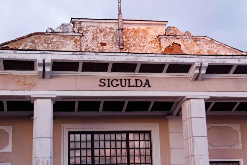 Gare Sigulda Lettonie