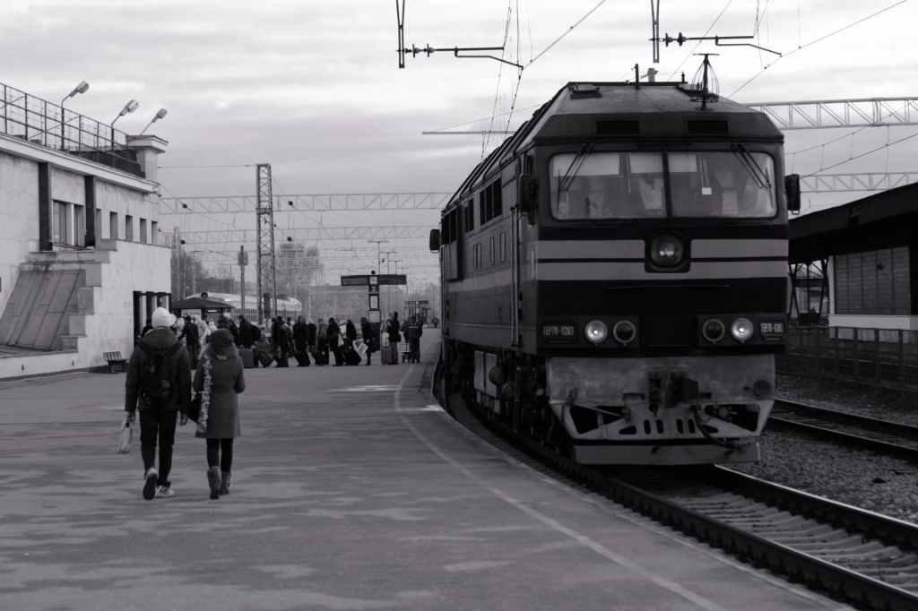Train Sigulda Lettonie