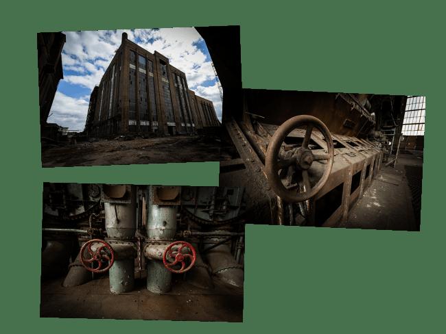 Centrale thermique abandonnée