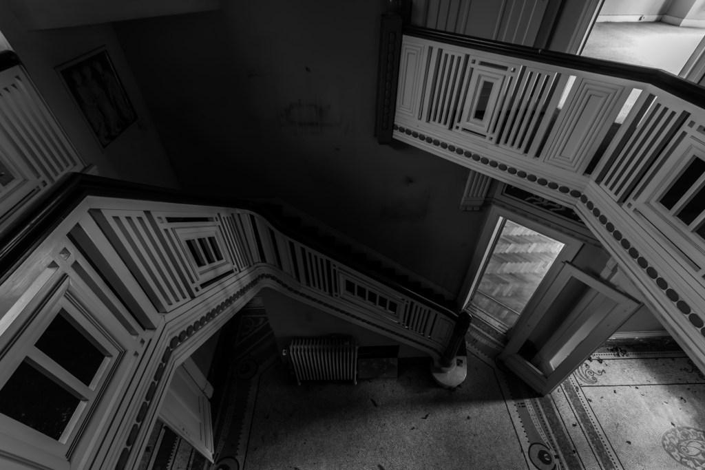 Villa Grammaire, manoir abandonnée
