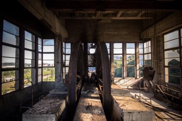 Mine abandonnée Cheratte