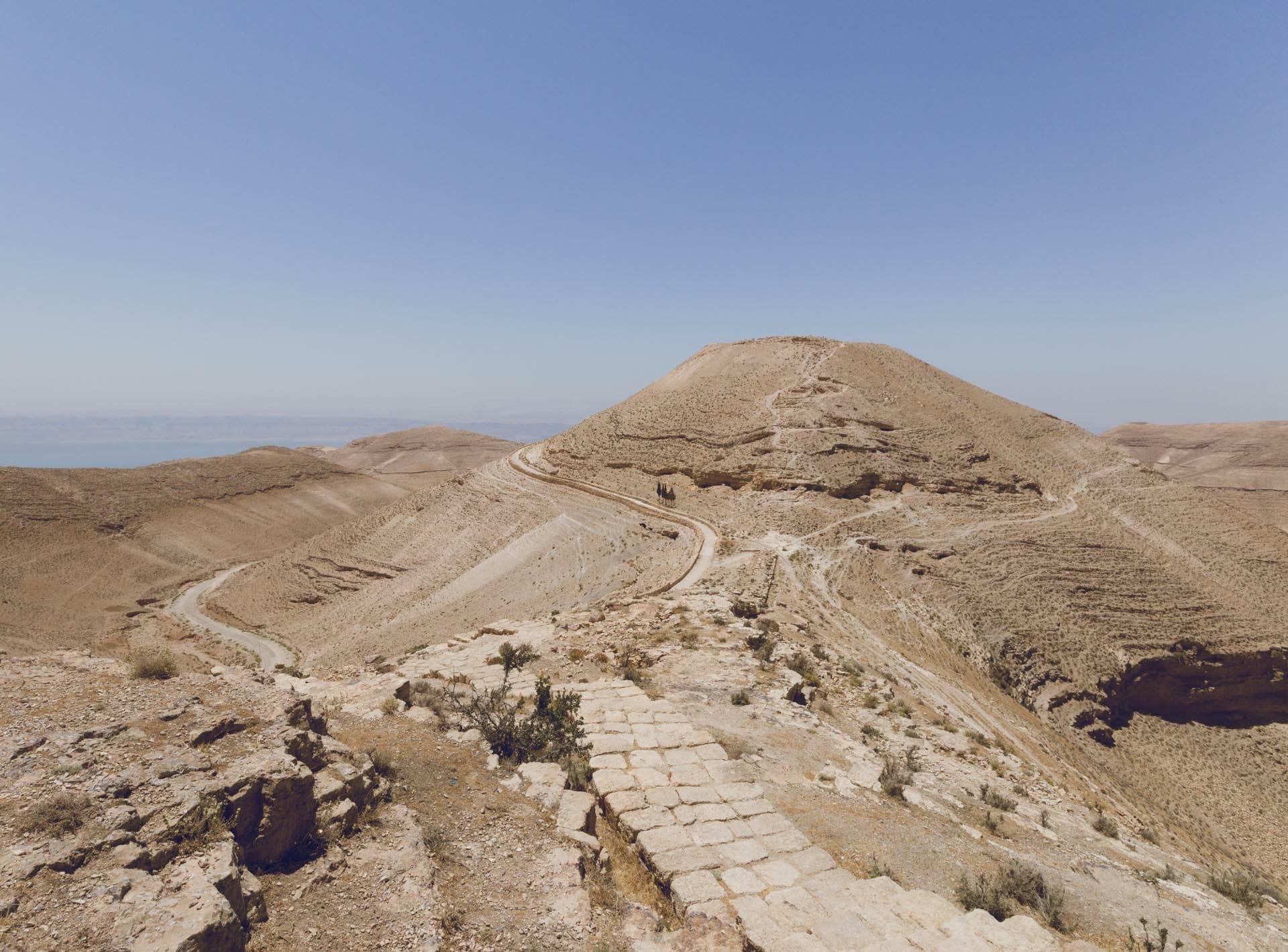 Chateau de Machéronte en Jordanie