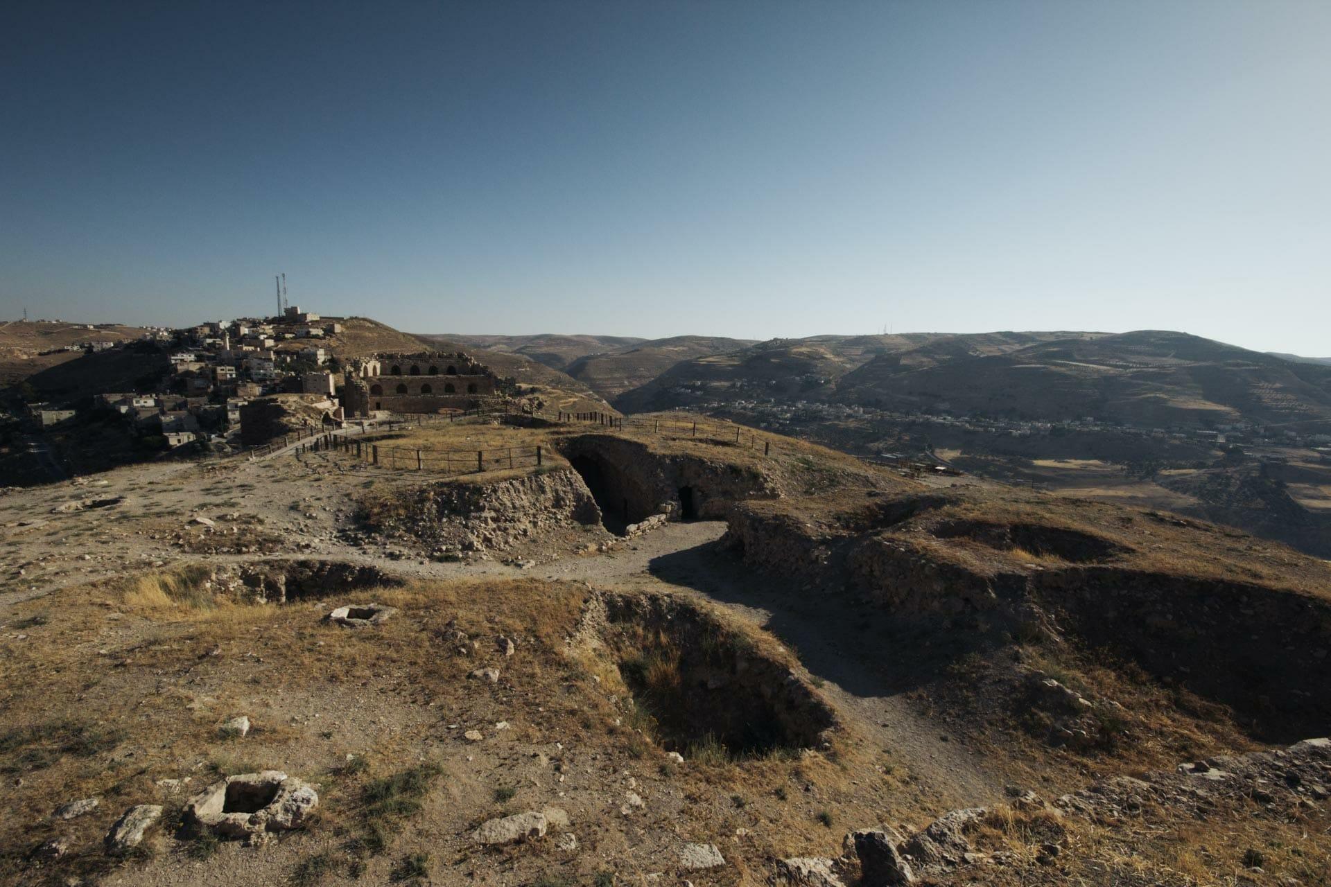 La forteresse de Kerak en Jordanie