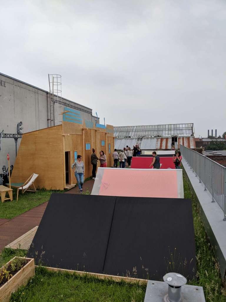 Camping sur les toits
