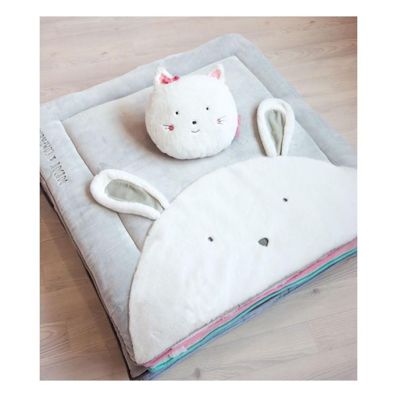 tapis de jeu lapin perle tapidou doudou