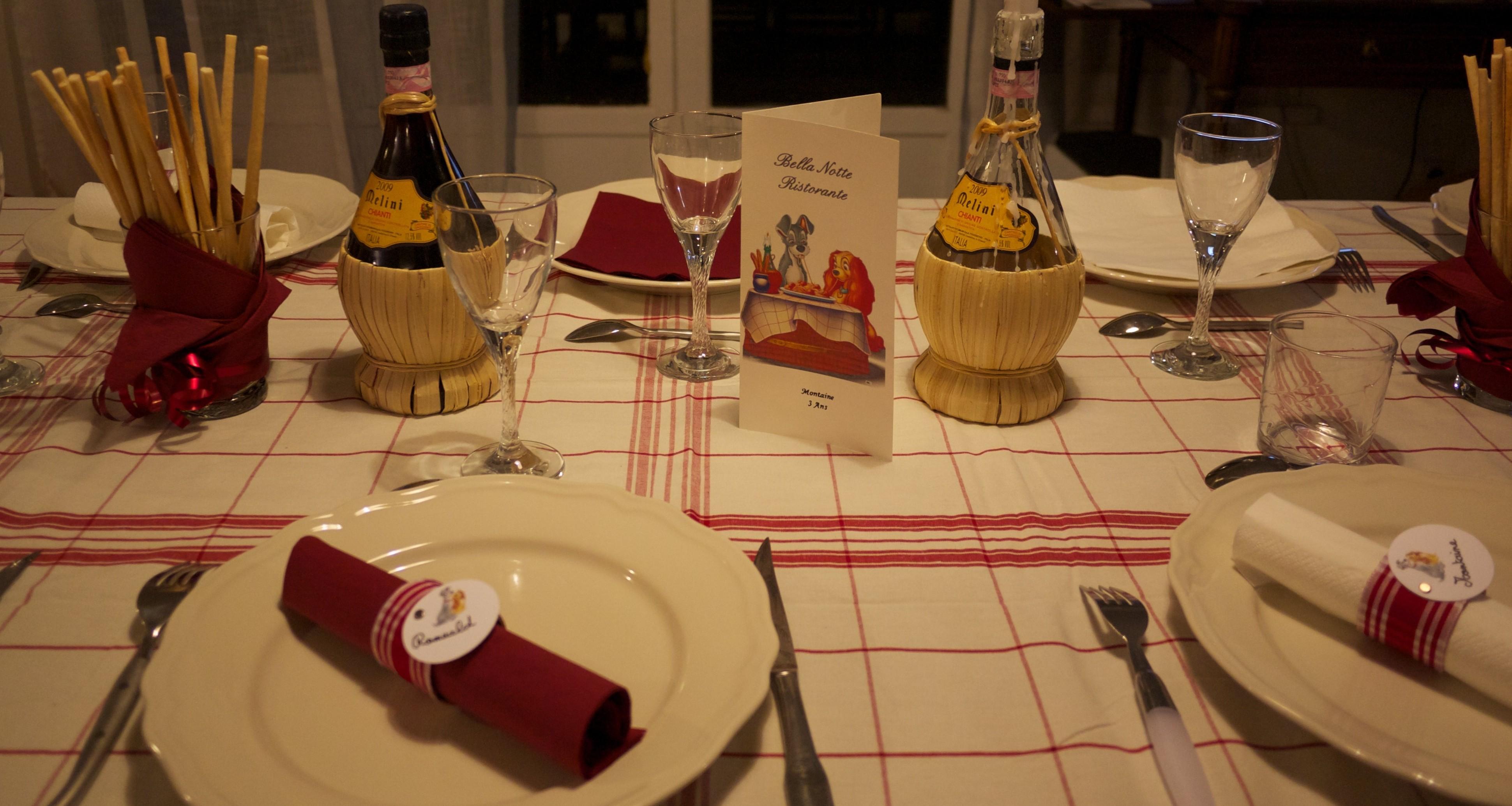 ensemble table cuisine