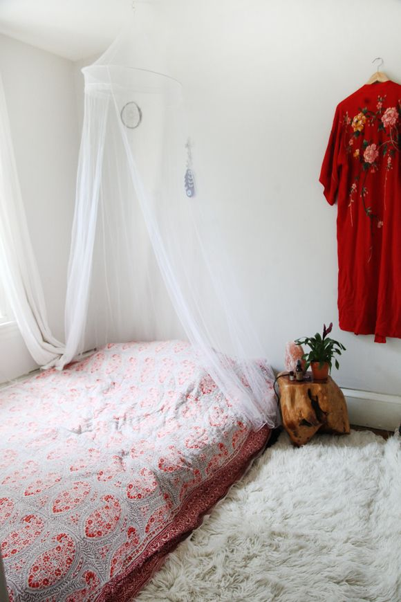 lit au sol 3