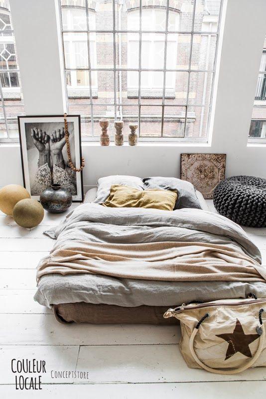 lit au sol 4