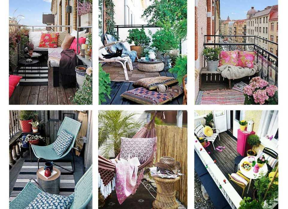 Decoration Balcon Appartement : Idées de décoration pour petit balcon une hirondelle