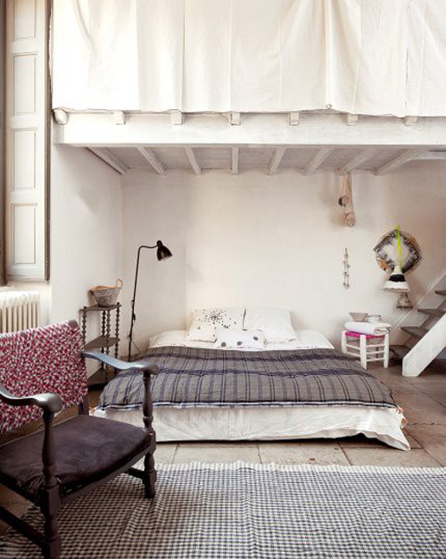 lit au sol 13