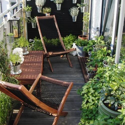 16 Idées De Décoration Pour Petit Balcon | Une Hirondelle Dans Les