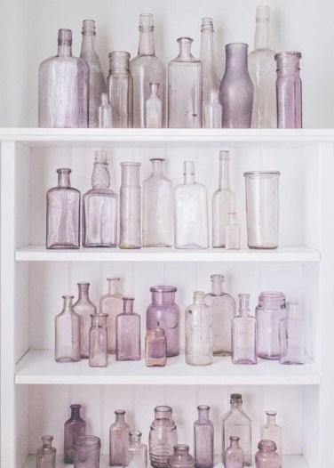 bouteilles verre accumulation