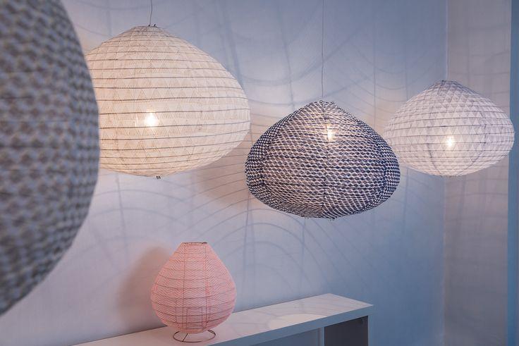 lampe tissus
