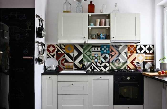 Carreaux De Ciment Idées Déco Originales Une Hirondelle - Acheter gaziniere pour idees de deco de cuisine