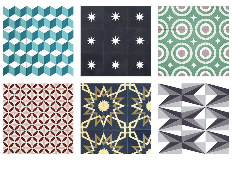o trouver des carreaux de ciment s lection de 5 boutiques en ligne une hirondelle dans les. Black Bedroom Furniture Sets. Home Design Ideas