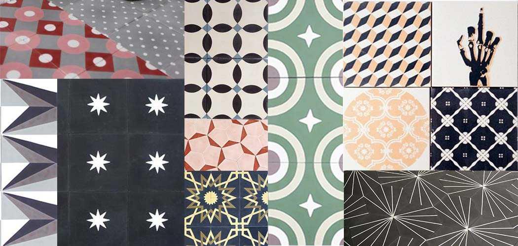 o trouver des carreaux de ciment s lection de 5. Black Bedroom Furniture Sets. Home Design Ideas