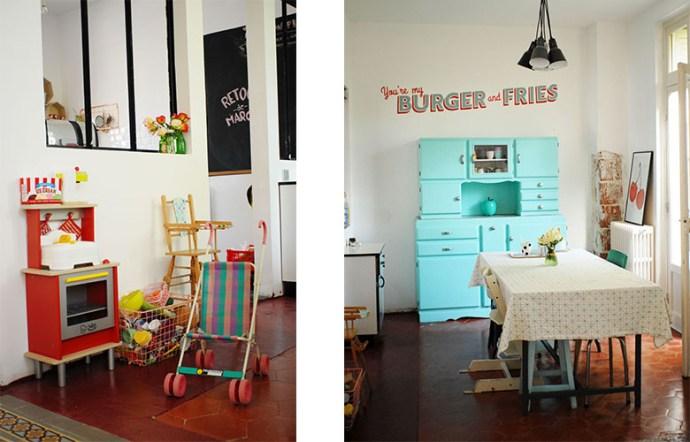 salle a manger vintage_2