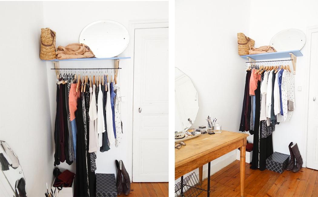 D.I.Y : un dressing ouvert ! | Une hirondelle dans les tiroirs