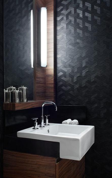 papier peint salle de bain 1