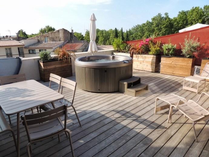 am nager sa terrasse 26 id es et astuces une hirondelle dans les tiroirs. Black Bedroom Furniture Sets. Home Design Ideas
