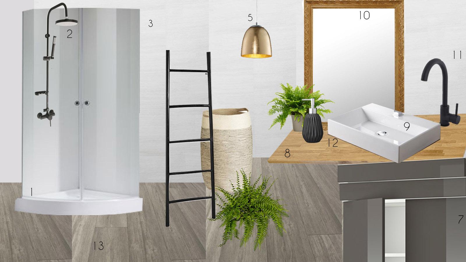 renover petite salle de bain  Une hirondelle dans les tiroirs