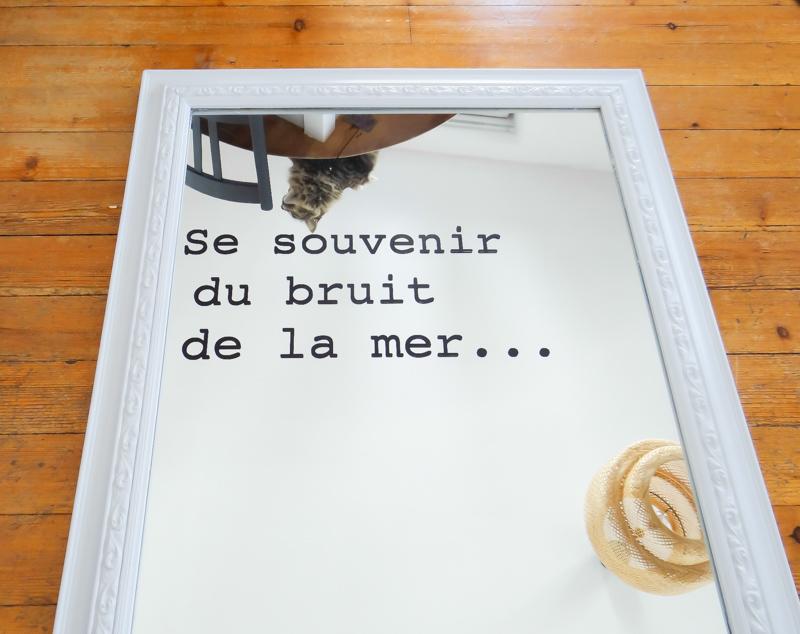 DIY ecrire sur miroir 15
