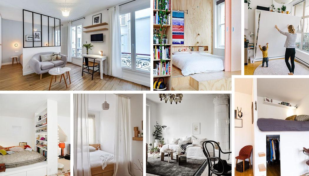 coin chambre dans le salon : 40 idées pour l\'aménager | Une ...