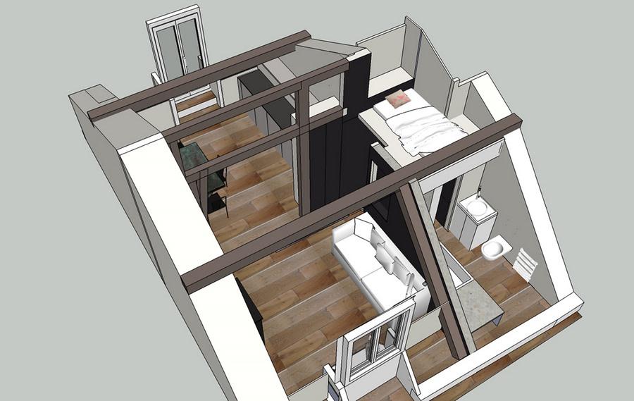 optimiser espace petit appartement_12