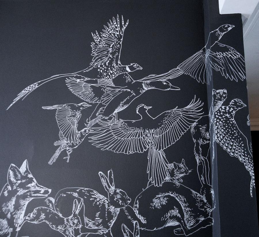 fresque murale deco 16