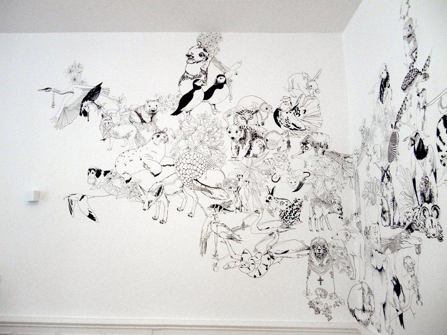 fresque murale deco 5