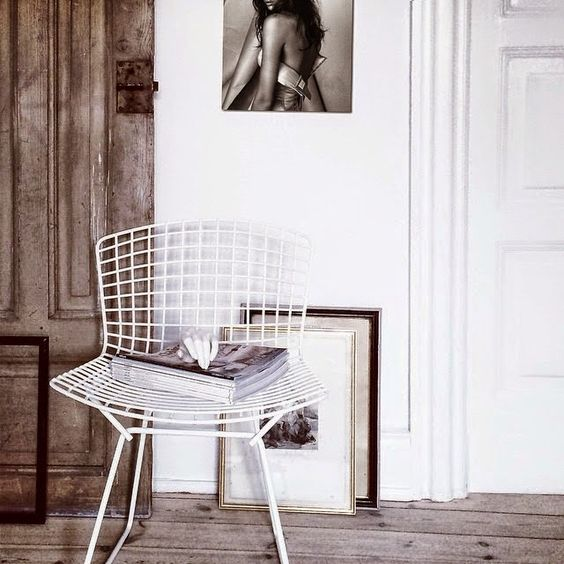 chaise bertoia 1