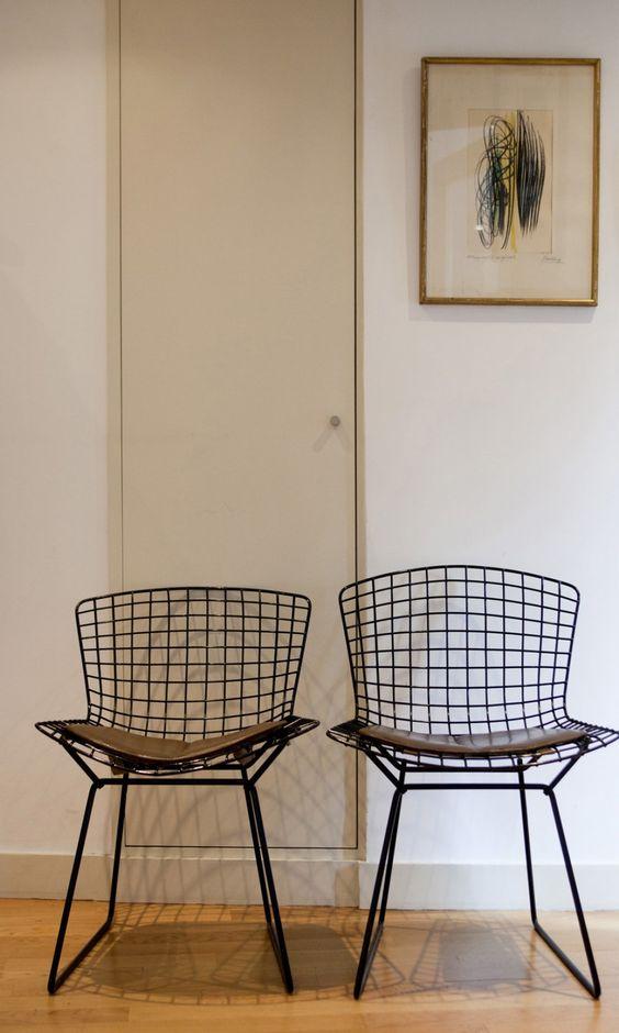 chaise bertoia 8