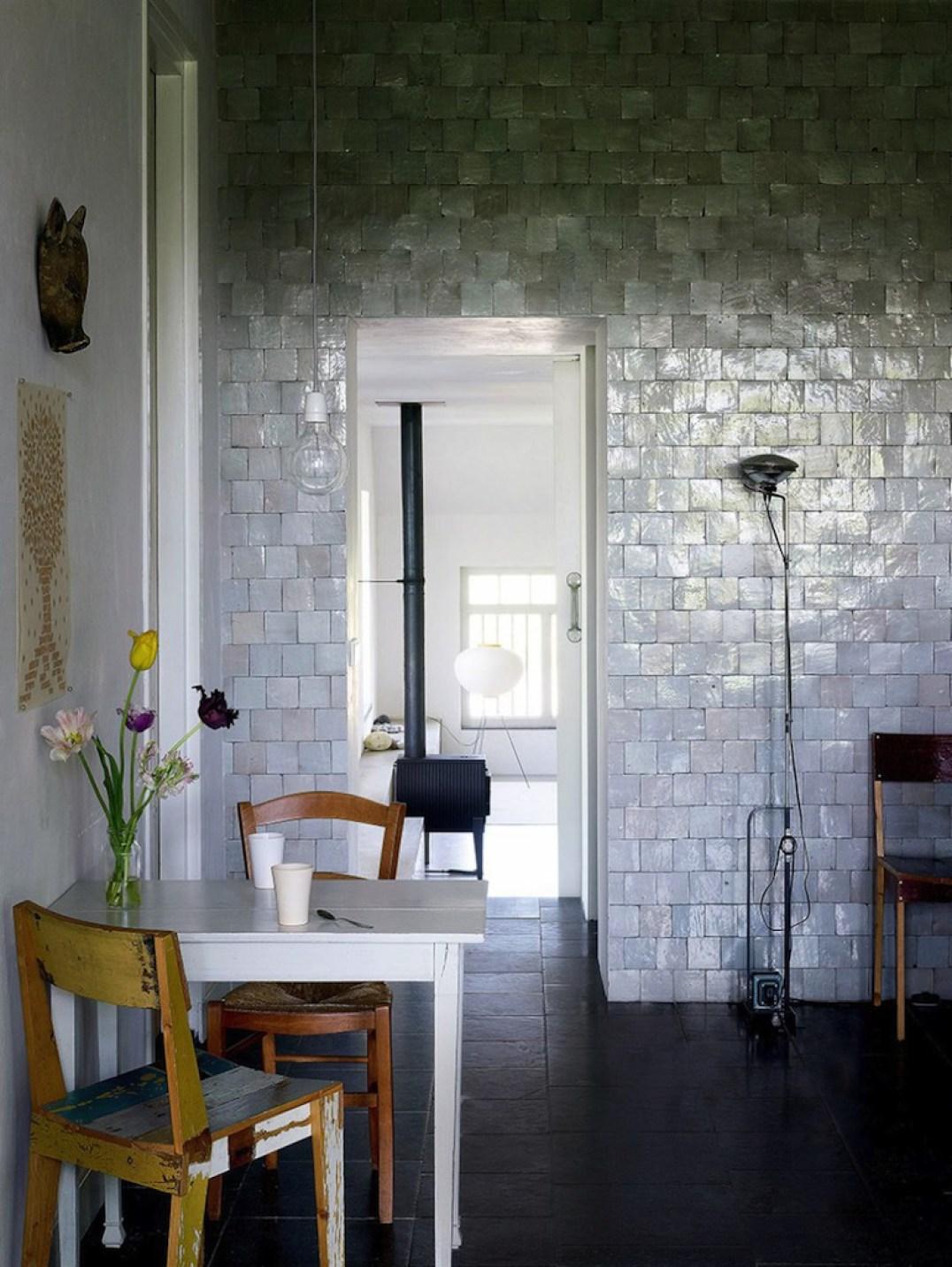 Accessoires Salle De Bain Couleur Aqua ~ Le Zellige Dans La Deco Une Hirondelle Dans Les Tiroirs