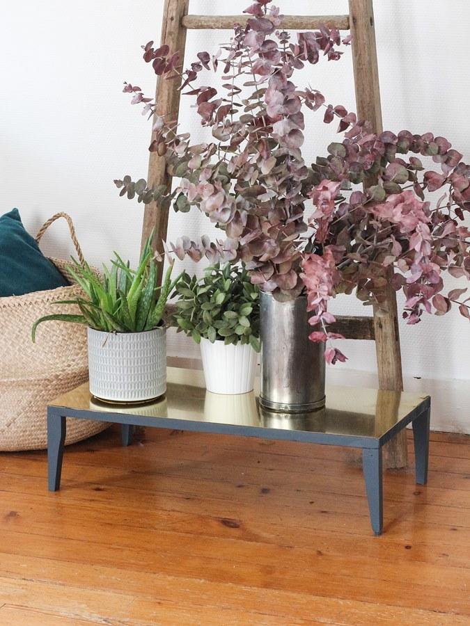 DIY laiton porte plantes 17