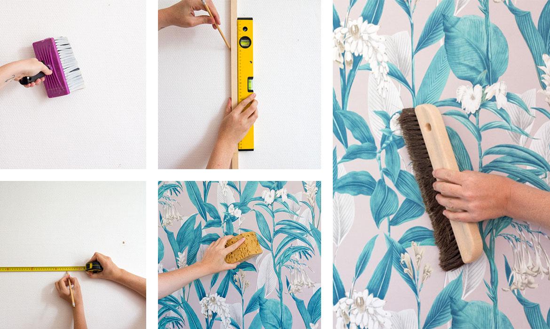 Le Papier Peint Est Il Recyclable comment poser du papier peint : tous mes conseils et astuces