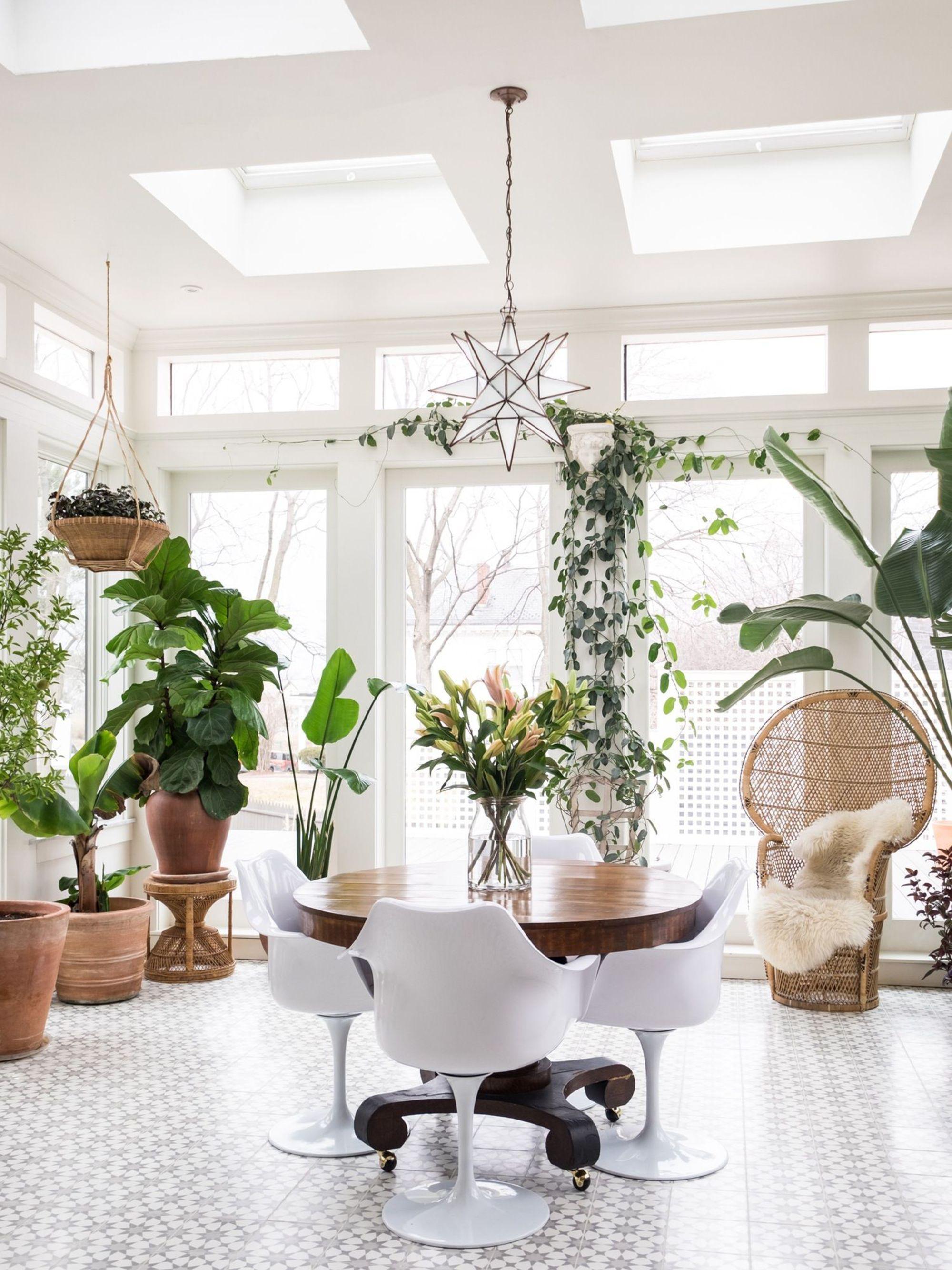 Deco Veranda Interieur idée déco : une véranda dans la maison   une hirondelle dans