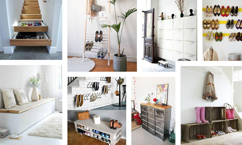 idee rangement chaussures best idee rangement chaussures with idee rangement chaussures. Black Bedroom Furniture Sets. Home Design Ideas