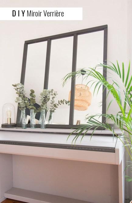 DIY miroir verrière