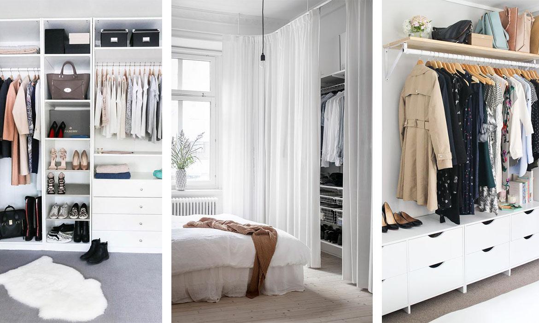 Grand Dressing Sur Mesure aménager un dressing pas cher | une hirondelle dans les tiroirs