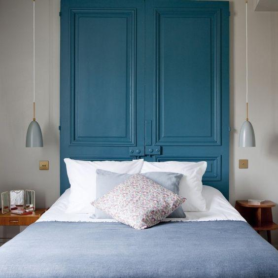 Idee Tete De Lit 40 idées pour une tête de lit   une hirondelle dans les tiroirs