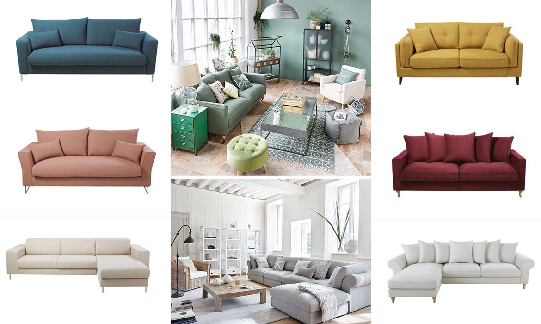 Maisons du monde lance un canapé entièrement personnalisable | Une ...